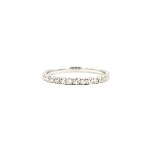 プラチナ950 ダイヤモンド フルエタニティーリング0.5CT