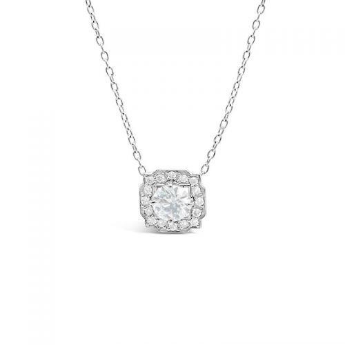 プラチナ900 ダイヤモンドペンダント トータル0.5CT UP