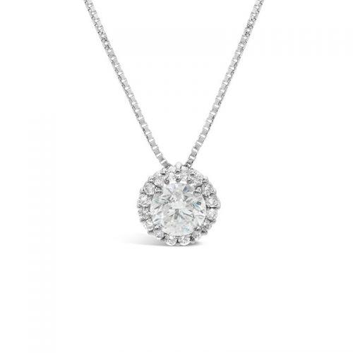 プラチナ900 ダイヤモンドペンダント トータル0.6CT UP