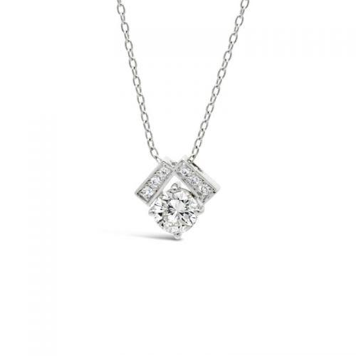 プラチナ900 ダイヤモンドペンダント トータル0.55CT UP
