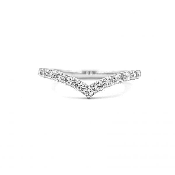 プラチナ950 VSダイヤモンドリング0.3CT
