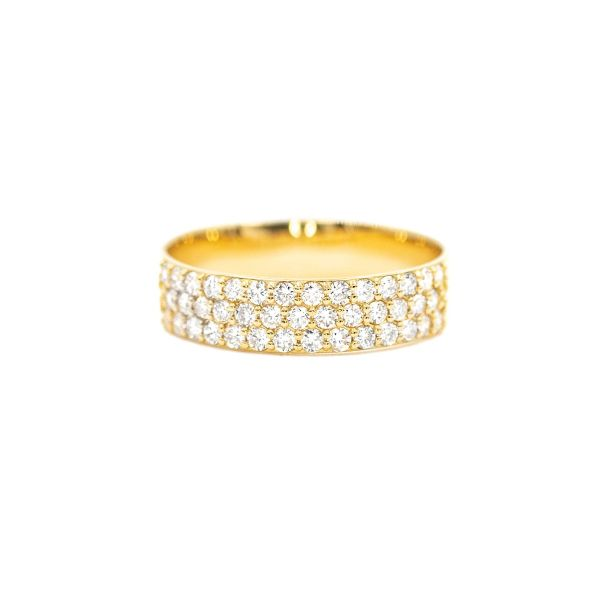 Natural Diamond 0.50ct Yellow Gold k18 Ring